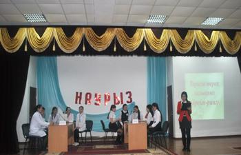 «Тарихы терең халықпыз» атты ҚР Тәуелсіздігінің 25 жылдығына арналған брейн-ринг