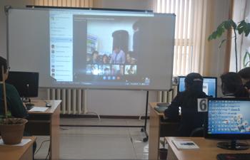 «Кітапхана жұмысында мобильді технологияларды қолдану» тақырыбында  онлайн - семинар өткізілді.