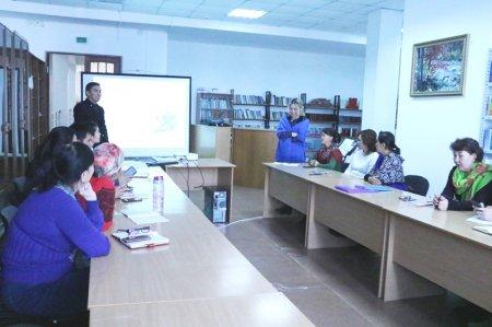 «Кәсіптік білім және бизнес» тренинг